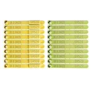QWIK EiD Yellow and QWIK Visual Light Green
