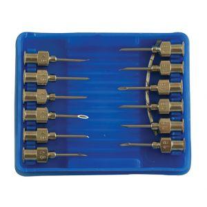 "Luer Needles 18G x 1/2"" Pack 12"