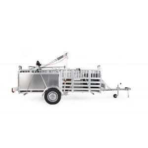 Alligator Pro 500 Trailer System with Electric Winch
