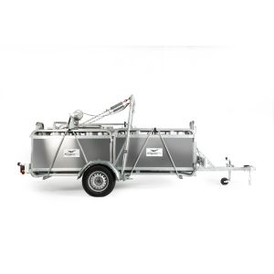 Alligator Pro 750 Trailer System with Manual Winch