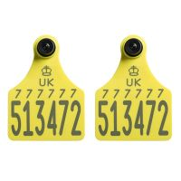 Replacement Ultra Senior Primary and Ultra Senior Secondary Yellow Cattle Tags